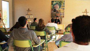 Primera charla impartida en el Centro de Interpretación del Melocotón de Cieza